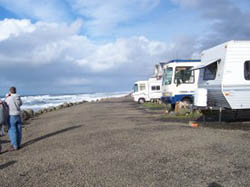 upgrades at sea and sand rv park on the beautiful oregon coast in depoe bay oregon