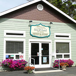 Welcome to the office of sea and sand rv park in depoe bay or
