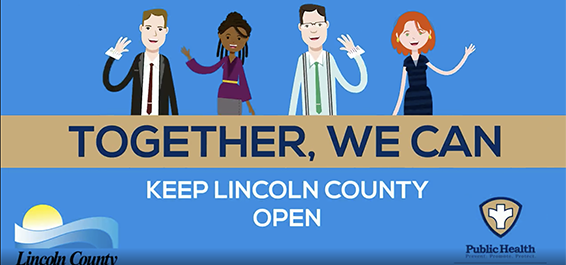 keep lincoln county open advertisement